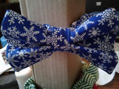 Christmas Bowties with attached collars