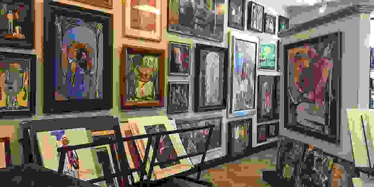 Prints, Painting, Drawing-orginal art by Jack Wilson