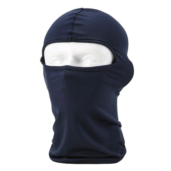 Dark blue balaclava