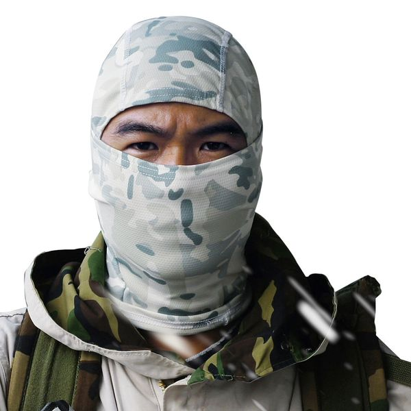 Camo Ninja Balaclava Multi-Functional Head Shield