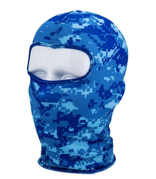 Blue digi camo hoodie