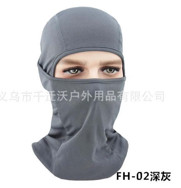 Ninja Style Balaclava Multi-Use Shield Grey