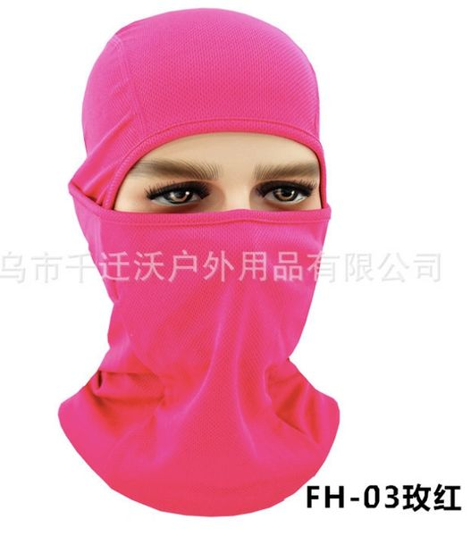 Ninja Style Balaclava Multi-Use Shield Pink