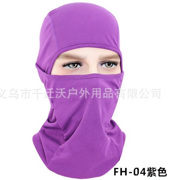 Ninja Style Balaclava Multi-Use Shield Purple