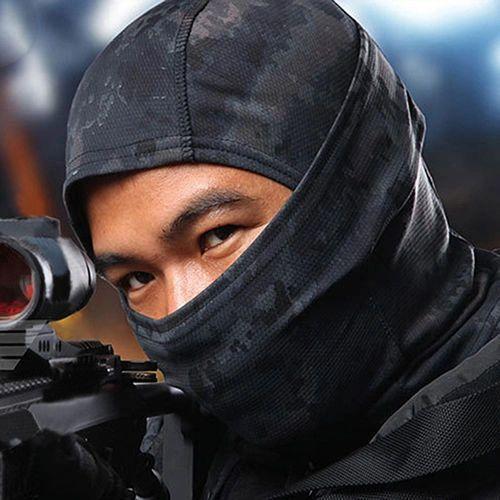 Black camo ninja