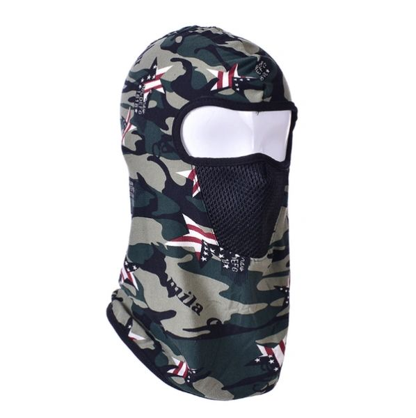 Hoodie camo USA star with filter MCT03
