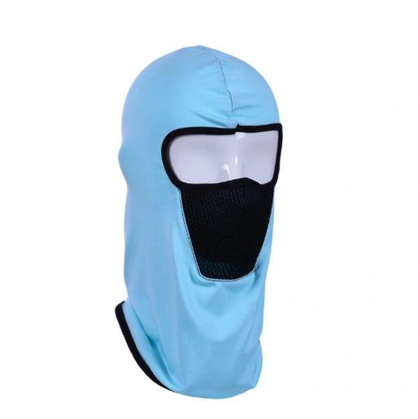 Hoodie lite blue with filter SW02
