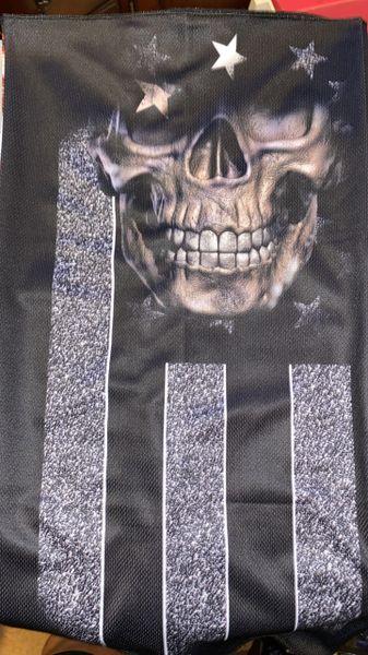 Blackout skull flag