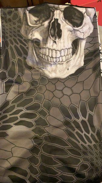 Blackout skull ultra premium dry fit.
