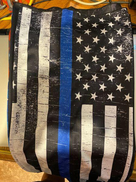 Police appreciation blackout flag