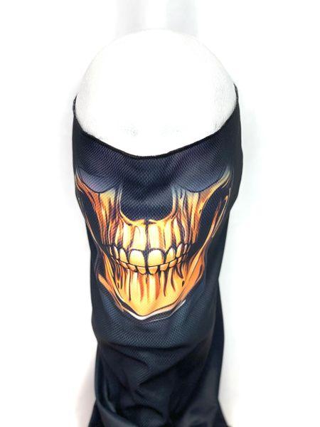 Orange Teeth Skull
