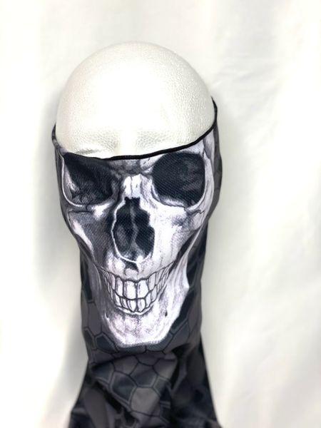 Dark Skull Face Shield