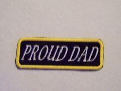PROUD DAD (white/yellow)