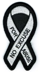 WHITE RIBBON NO EXCUSE FOR ABUSE AWARENESS
