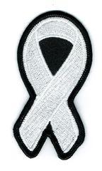 WHITE RIBBON LUNG & BONE CANCER AWARENESS