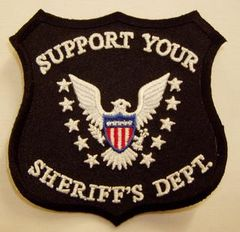 SUPPORT YOUR SHERIFF'S DEPT