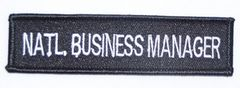 NATL. BUSINESS MANAGER