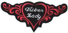 TRIKER LADY TRIBAL HEART LARGE