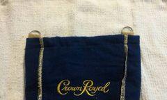 Crown Royal biker purse