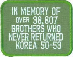 Korea - In Memory of