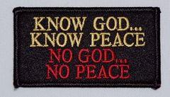 KNOW GOD...KNOW PEACE