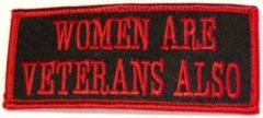WOMEN ARE VETERANS ALSO