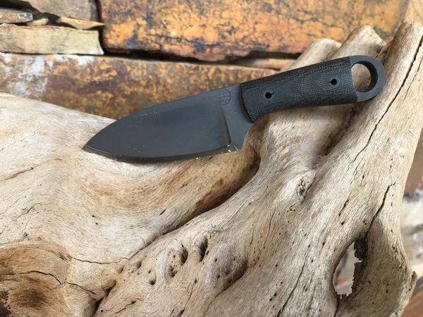 Mmhw Mini Dp Hunters Knife W Kryptek Typhon Kydex Sheath 7rattlesbushcraft Custom Kydex Knife Sheath And Holster Maker