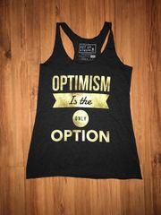 Optimism Gold Foil Tank
