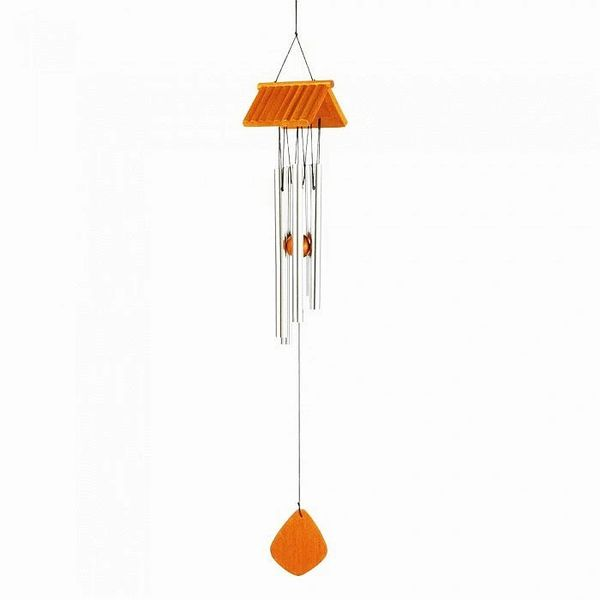 LOG CABIN ROOF WIND CHIMES