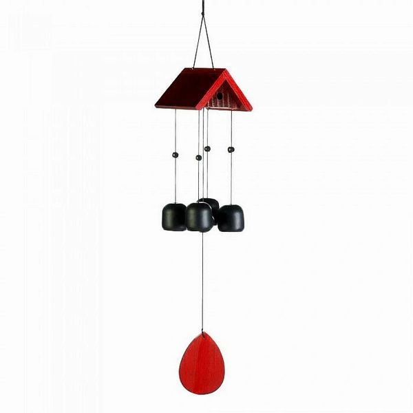 BIRDHOUSE ROOF WIND CHIMES