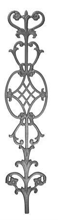 (#9608) Cast Iron Railing Panel