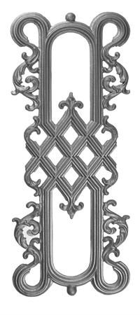 #(9623) Cast Iron Railing Panel - Back Out