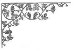 (#18) Grape Vineyard Corner Casting Bracket (Two Pieces)