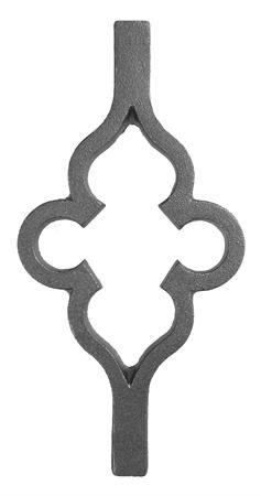 (#38-A) Cast Iron Clover Insert
