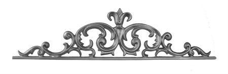 #(62-X) Cast Iron Pontalba Valance / Gate Top