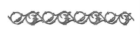(62-XL) Cast Iron Pontalba Friezes