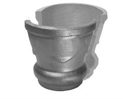 "#(7191) Cast Iron Post Top Collar Component / 3-1/2"" ID"