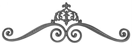 #(7217) Cast Iron Classic Gate Crown