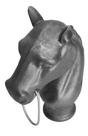 #(742) Cast Iron Horse Head / Post Top 1-3/4 ID