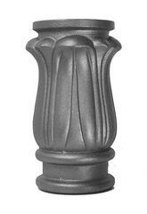 "#(6191-H) Decorative Cast Iron Post Collar 2pcs / 3-9/16"" ID"