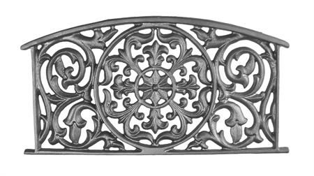 #(9314) Cast Iron Large Headboard Panel (SF)