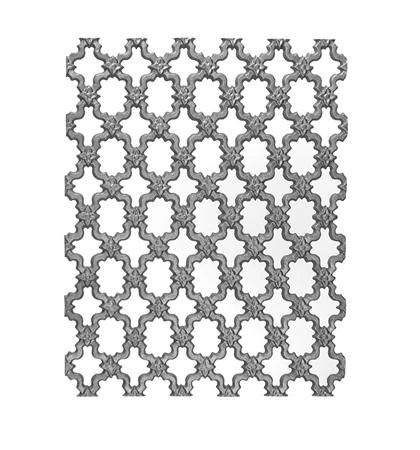 #(9455) Cast Iron Grille Panel - SF