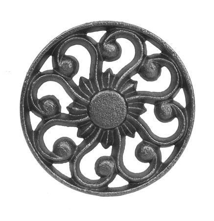 #(9050) Cast Iron Rosette / Insert - SF