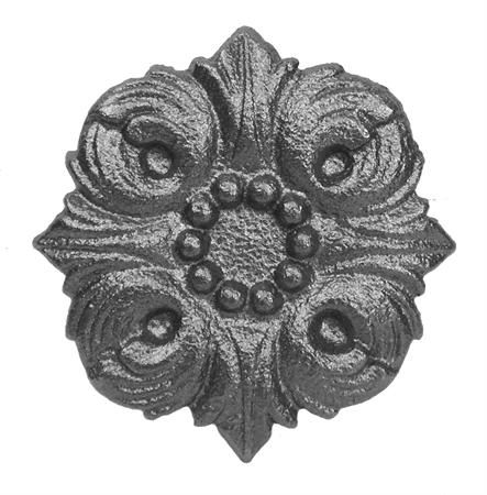 #(9553) Cast Iron Rosette - SF