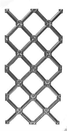 #(7379) Cast Iron Decorative Railing Panel