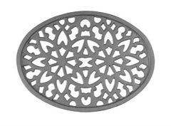 #(726) Cast Iron Decorative Grille / Vent Insert - SF