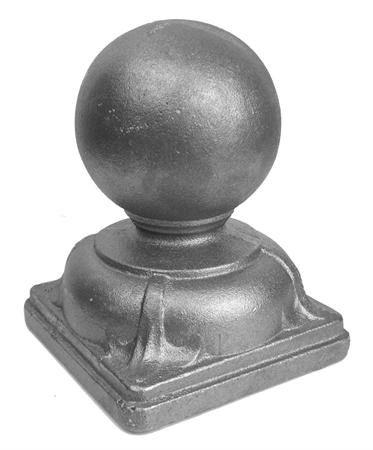 """(#122) Decorative Post Ball Cap 4"""""""