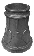 #(8399) Cast Iron Decorative Ornamental Base 2pcs