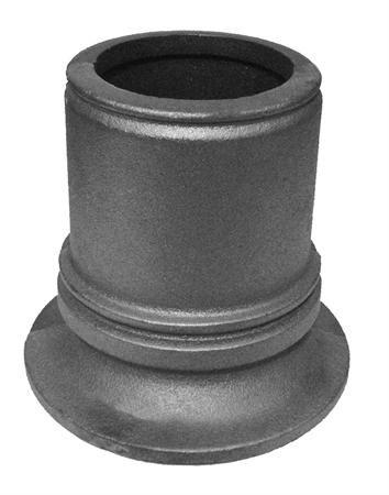 "#(9102) Cast Iron Decorative Base 2pcs / 4-3/4"" ID"