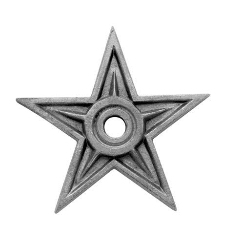 #(CI50046) Cast Iron Rosette Star - SF